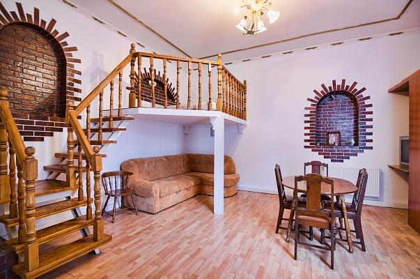 1-комнатная квартира посуточно в Львове. Галицкий район, ул. Костюшка, 22. Фото 1