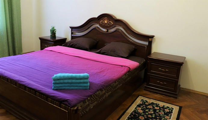 1-комнатная квартира посуточно в Львове. Галицкий район, ул. Ярослава Стецько, 5. Фото 1