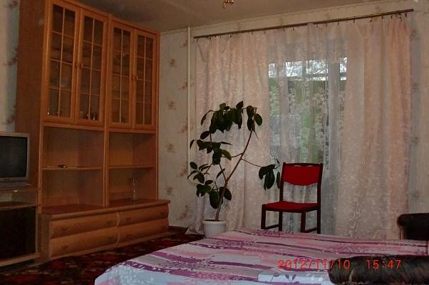 1-комнатная квартира посуточно в Днепропетровске. Индустриальный район, ул. Тверская, 9. Фото 1