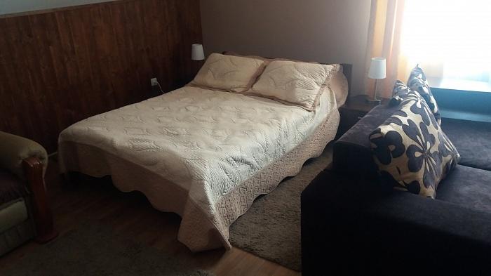 1-комнатная квартира посуточно в Сходнице. ул. Заречная, 3. Фото 1