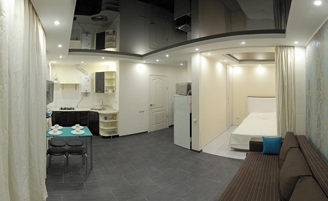 1-комнатная квартира посуточно в Николаеве. Заводской район, пр-т Центральный (Ленина), 8а. Фото 1