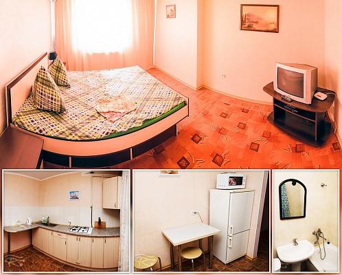 1-комнатная квартира посуточно в Сумах. Заречный район, ул. Кондратьева, 158/1. Фото 1