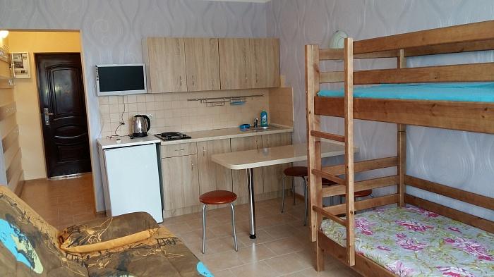 1-комнатная квартира посуточно в Затоке. Золотой берег, 33. Фото 1