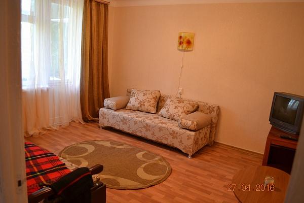 1-комнатная квартира посуточно в Сергеевке. ул. Горького, 7. Фото 1