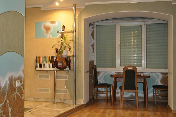 1-комнатная квартира посуточно в Николаеве. Ленинский район, Молодогвардейская, 53 а. Фото 1