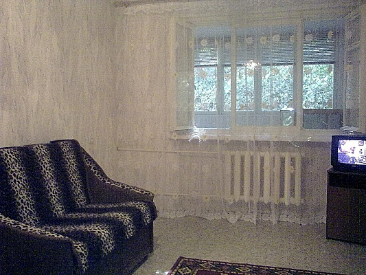 1-комнатная квартира посуточно в Севастополе. Ленинский район, ул. Гоголя, 20Д. Фото 1