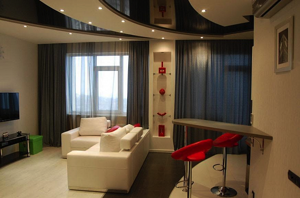 2-комнатная квартира посуточно в Днепропетровске. Бабушкинский район, пр-т Дмитрия Яворницкого, 55. Фото 1