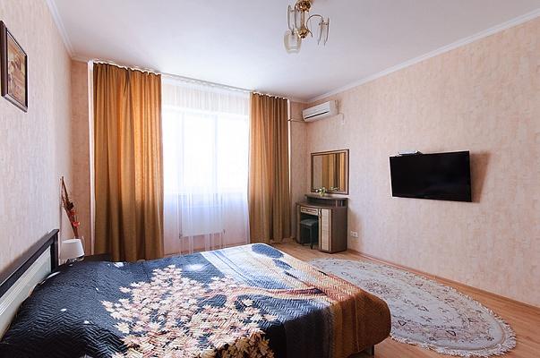 1-комнатная квартира посуточно в Сумах. Заречный район, ул. Харьковская, 1. Фото 1