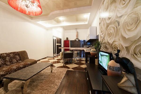1-комнатная квартира посуточно в Одессе. Приморский район, Гагаринское плато, 5/3. Фото 1