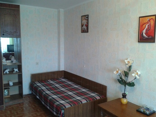 1-комнатная квартира посуточно в Одессе. Киевский район, ул. Ивана Франко, 49. Фото 1