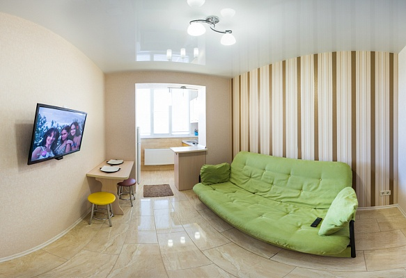 1-комнатная квартира посуточно в Харькове. Дзержинский район, ул. Целиноградская, 54. Фото 1