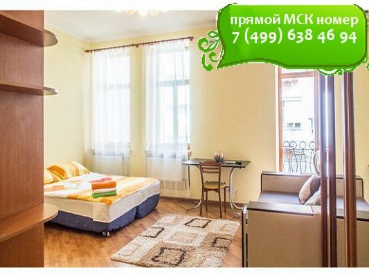1-комнатная квартира посуточно в Киеве. Шевченковский район, ул. Владимирская, 6. Фото 1