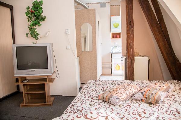 1-комнатная квартира посуточно в Львове. Франковский район, ул. Братьев Тимошенко, 2а. Фото 1