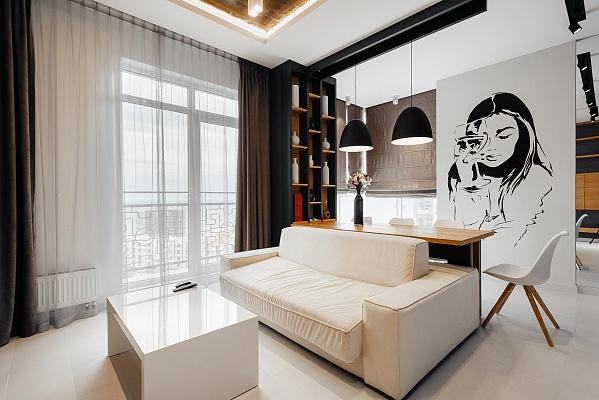 3-комнатная квартира посуточно в Одессе. Приморский район, б-р Французский, 60-Б. Фото 1