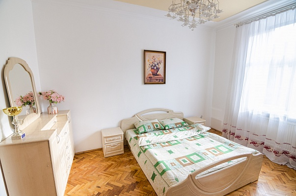 2-комнатная квартира посуточно в Львове. Лычаковский район, ул. Франко, 21. Фото 1