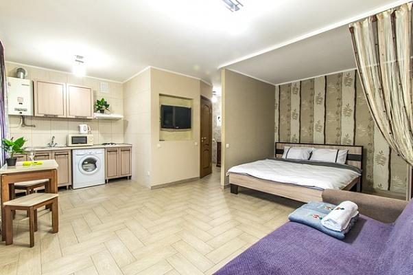 1-комнатная квартира посуточно в Харькове. Дзержинский район, ул. 23-го Августа, 16. Фото 1