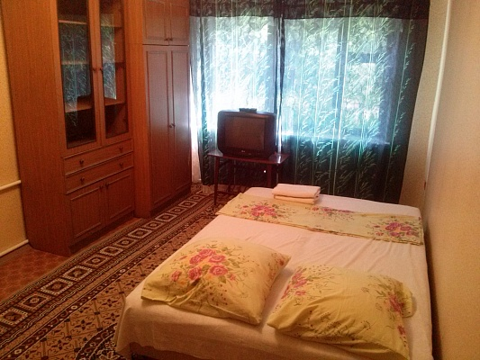 1-комнатная квартира посуточно в Донецке. Калининский район, ул. Владычанского, 52. Фото 1