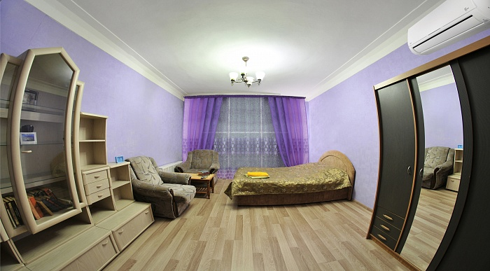 1-комнатная квартира посуточно в Киеве. Шевченковский район, ул. Тургеневская, 74. Фото 1