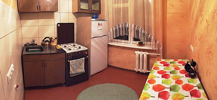 1-комнатная квартира посуточно в Полтаве. Октябрьский район, ул. 23-го Cентября, 17. Фото 1
