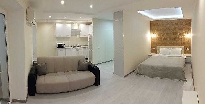 1-комнатная квартира посуточно в Николаеве. Центральный район, пр-т Центральный, 76. Фото 1