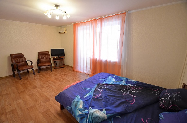 1-комнатная квартира посуточно в Николаеве. Заводской район, ул. Наваринская, 17А. Фото 1