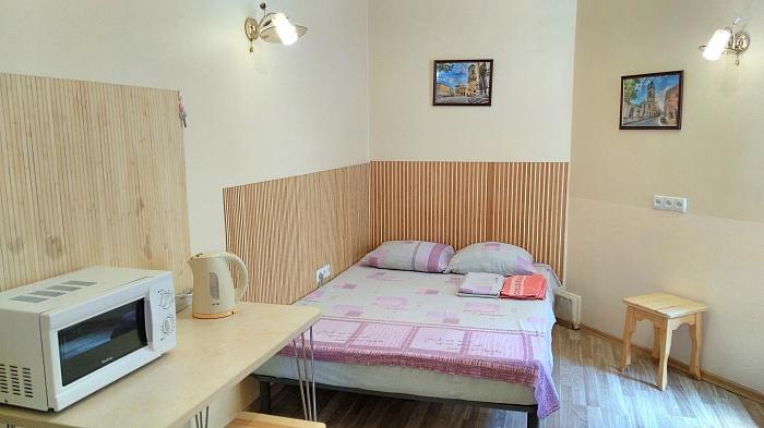 1-комнатная квартира посуточно в Львове. Франковский район, пл. Липнева, 7. Фото 1