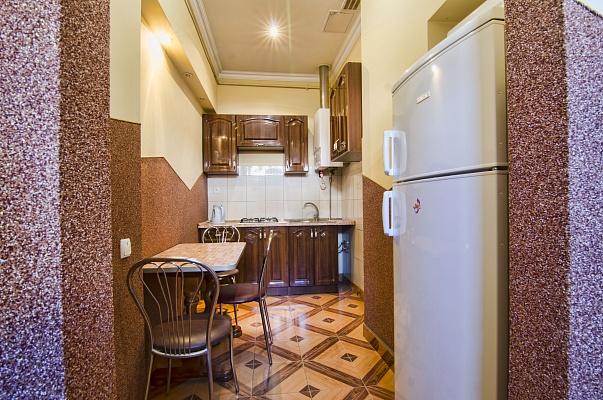 1-комнатная квартира посуточно в Львове. Галицкий район, ул. Менцынского, 1. Фото 1
