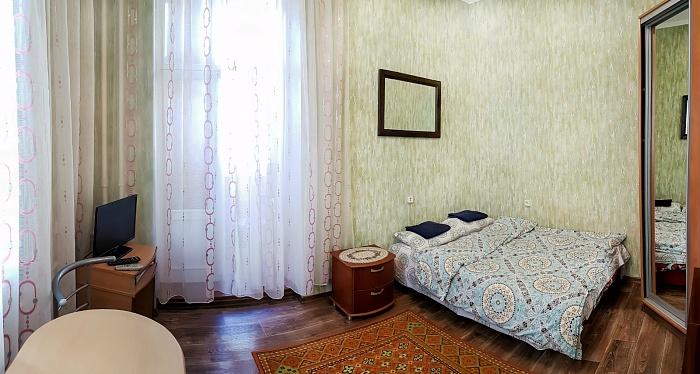 1-комнатная квартира посуточно в Киеве. Печерский район, пер. Бастионный, 3. Фото 1