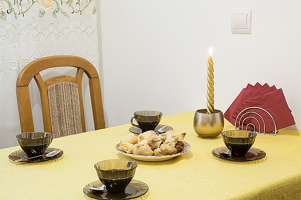 1-комнатная квартира посуточно в Львове. Шевченковский район, ул. Мазепы, 13-А. Фото 1