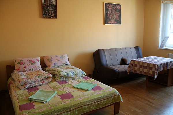 1-комнатная квартира посуточно в Львове. Галицкий район, пр-т Свободы, 39. Фото 1