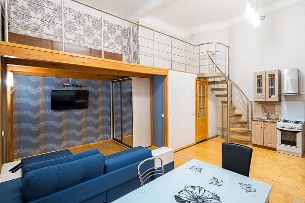1-комнатная квартира посуточно в Львове. Галицкий район, ул. Ковжуна, 4. Фото 1