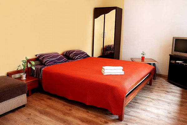 1-комнатная квартира посуточно в Львове. Галицкий район, ул. Чайковского, 25. Фото 1
