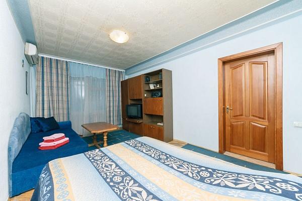 1-комнатная квартира посуточно в Киеве. Днепровский район, ул. Флоренции, 12а. Фото 1
