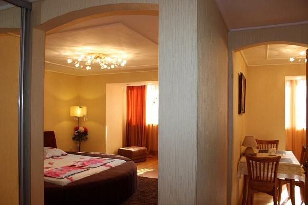 1-комнатная квартира посуточно в Днепропетровске. Бабушкинский район, ул. Князя В. Великого (Плеханова), 15-б. Фото 1