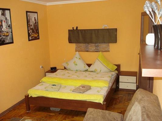 1-комнатная квартира посуточно в Запорожье. Орджоникидзевский район, пр-т Ленина, 143. Фото 1