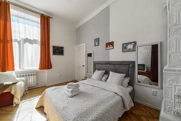 2-комнатная квартира посуточно в Львове. Лычаковский район, ул. К. Левицького, 15. Фото 1