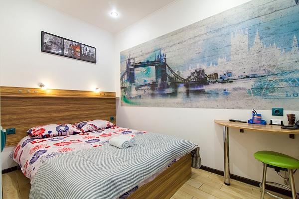 1-комнатная квартира посуточно в Львове. Галицкий район, ул. Дорошенка, 64. Фото 1