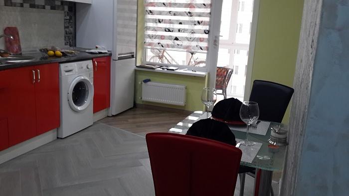 1-комнатная квартира посуточно в Львове. Франковский район, ул. Княгини Ольги, 100. Фото 1