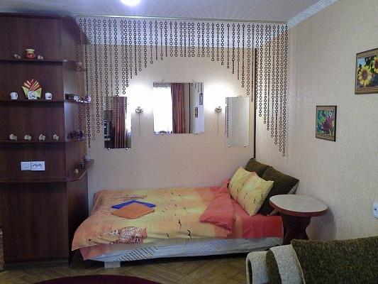 1-комнатная квартира посуточно в Херсоне. Днепровский район, ул. Ушакова, 46. Фото 1