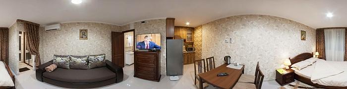 1-комнатная квартира посуточно в Трускавце. ул. Ульяны Кравченко, 1в. Фото 1