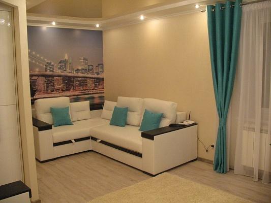 1-комнатная квартира посуточно в Сумах. Заречный район, пр-т Лушпы, 43. Фото 1