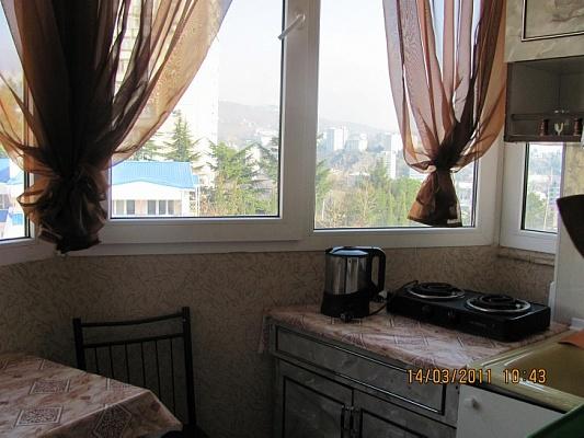 1-комнатная квартира посуточно в Партените. ул. Нагорная, 14. Фото 1