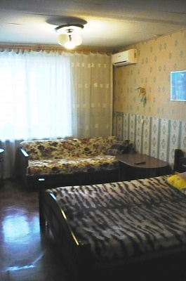 1-комнатная квартира посуточно в Донецке. Ленинский район, Ленинский, 15А. Фото 1