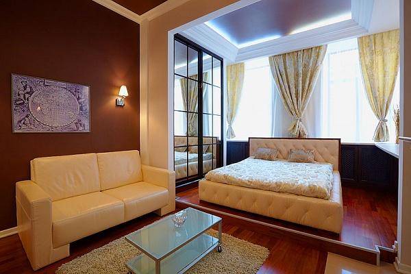 1-комнатная квартира посуточно в Львове. Лычаковский район, кониского, 11. Фото 1