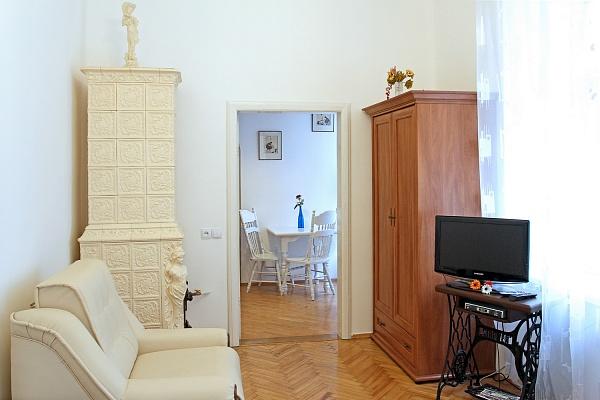 1-комнатная квартира посуточно в Львове. Галицкий район, ул. Веселая, 1. Фото 1