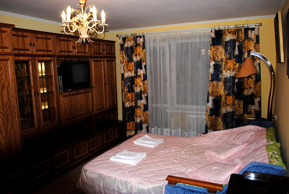 1-комнатная квартира посуточно в Львове. Лычаковский район, ул. Семьи Крущельницких, 5. Фото 1