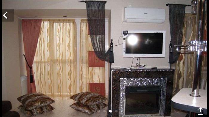 1-комнатная квартира посуточно в Донецке. Ворошиловский район, пр-т Ильича, 9. Фото 1