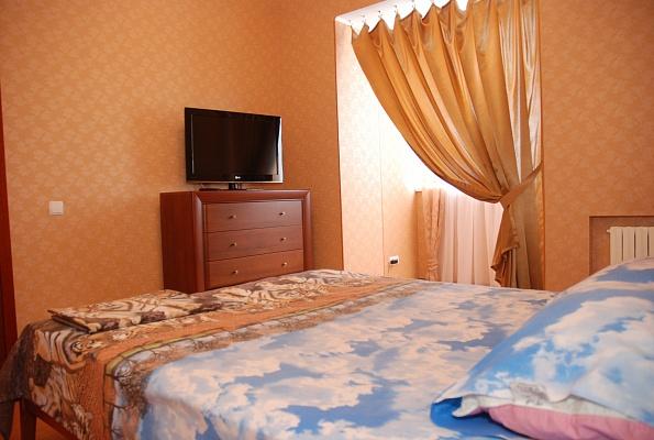 1-комнатная квартира посуточно в Донецке. Ворошиловский район, ул. Дзержинского, 4а. Фото 1
