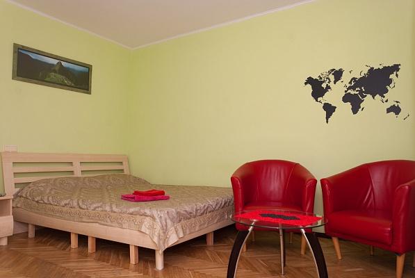 1-комнатная квартира посуточно в Киеве. Печерский район, б-р Леси Украинки, 3. Фото 1