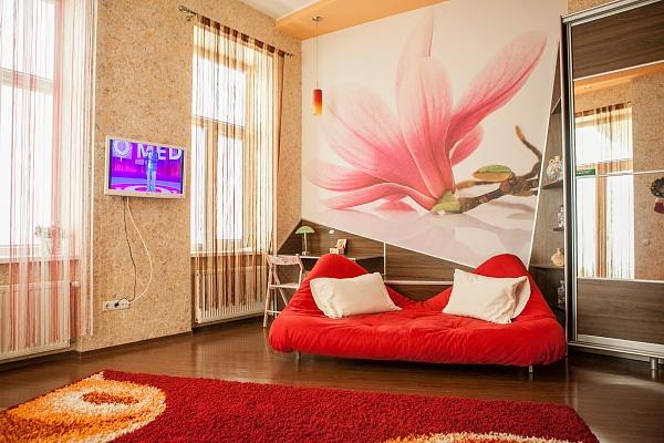 1-комнатная квартира посуточно в Львове. Галицкий район, ул. Дорошенко, 16. Фото 1